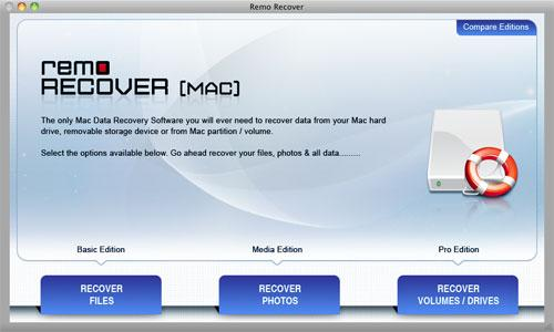 Recover iPod Deleted Files - Main Window