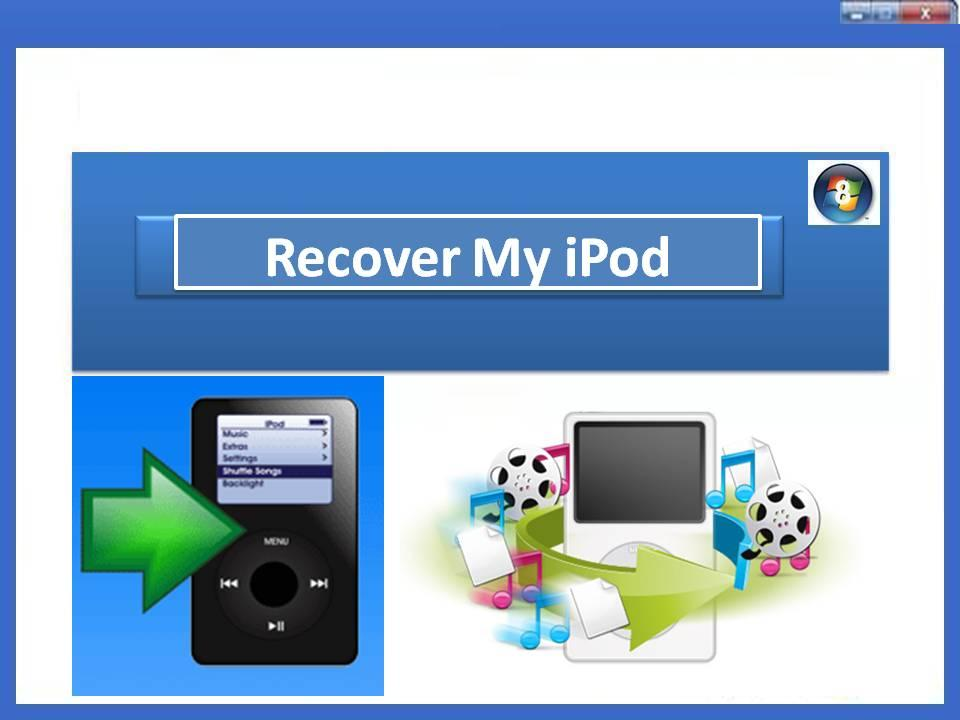 Recover deleted or lost iPod media files
